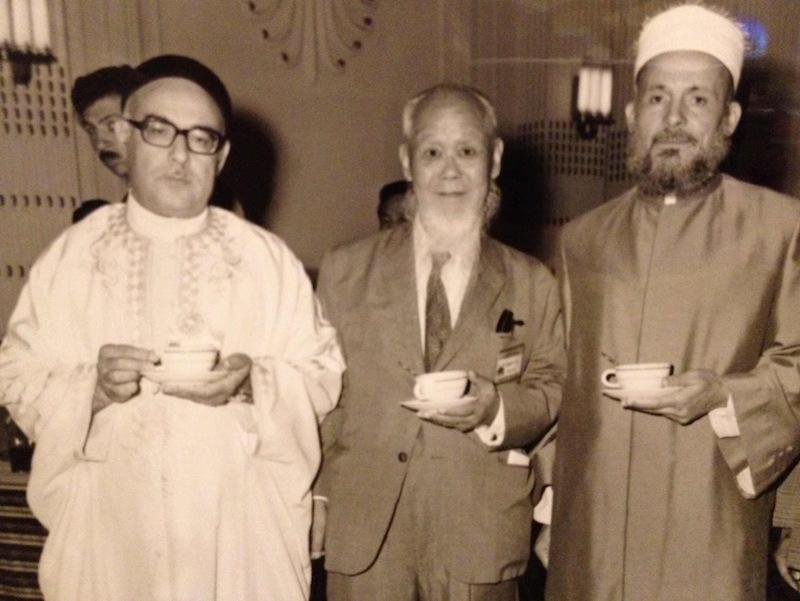 حفل افتتاح أول مسجد بكوريا الجنوبي (سيول) ساهمت جمعية الدعوة الإسلامية في تأسيسه العام 1975م