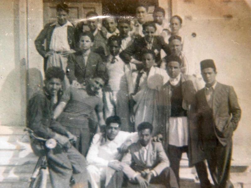 مدرسة طرابلس الثانوية الأولى بعد الحرب العالمية الثانية 1946 - 1947