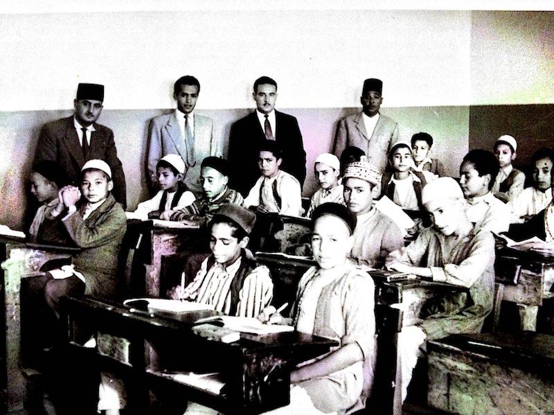 مدرسة الظهرة الابتدائية 1952
